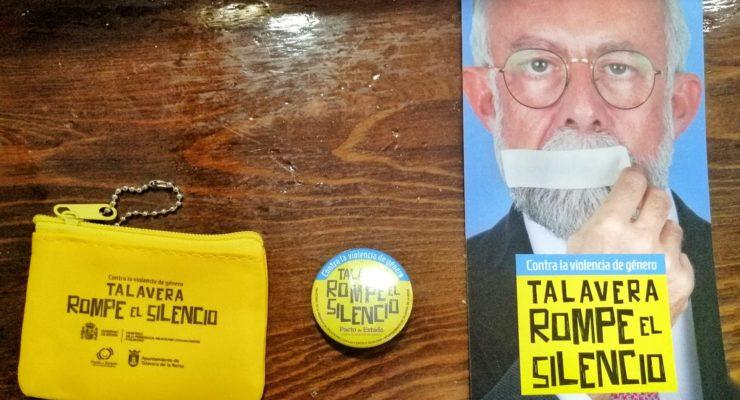 La campaña contra la violencia de género protagonizada por el alcalde de Talavera (PP) costó 15.000 euros