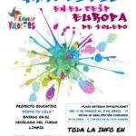 Graffitis para inculcar valores solidarios en el CEIP Europa de Toledo