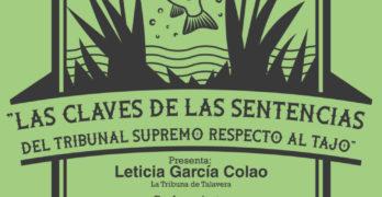 Talavera acoge una jornada para conocer 'Las claves de las sentencias del Tribunal Supremo respecto al Tajo'