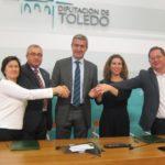 La Diputación de Toledo cede por 30 años cinco pisos a Down Toledo, Cruz Roja y Apanas