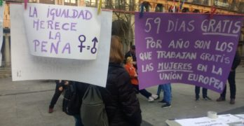 Toledo camina sin freno hacia el 8M: pensiones, cuidados compartidos y acampada feminista