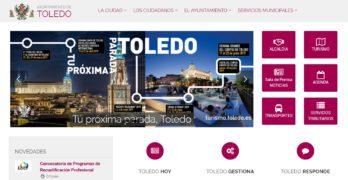 El Ayuntamiento de Toledo retira cuatro noticias de la portada de su web tras el requerimiento de la Junta Electoral