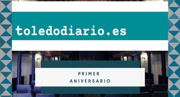 Toledodiario celebra su primer aniversario