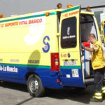 El personal de ambulancias retoma en Toledo las movilizaciones por el desbloqueo de su convenio