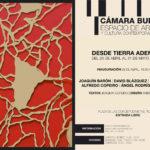 Arte y poesía dialogan en la Cámara Bufa con la exposición 'Desde tierra adentro'
