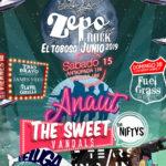 El ZepoRock completa su cartel con Anaut y The Sweet Vandals como artistas principales y 13 bandas confirmadas