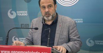 """Javier Mateo (Ganemos) insta a """"trabajar"""" para que en Toledo no gobierne la derecha"""