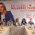 """Un millón de euros para empleo, primera medida de Tolón: """"Toledo está cambiando y este ritmo no puede pararse"""""""