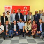 El PSOE presenta a sus candidatos a las alcaldías en la Sierra de San Vicente