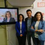 """El PSOE presenta la web de Tolón confiando en """"mejorar"""" los resultados conseguidos en las generales en Toledo"""