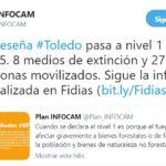 Declarado un incendio forestal en Seseña en el que trabajan 8 medios y 27 personas