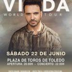 A la venta las entradas para el concierto de Luis Fonsi en Toledo el 22 de junio