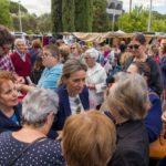 GALERÍA DE IMÁGENES   Los candidatos a la Alcaldía de Toledo visitan el mercadillo del barrio del Polígono