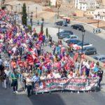 1 de mayo en Toledo: consignas feministas, contra la reforma laboral y de las pensiones