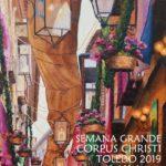 Toldos y flores, protagonistas del cartel del Corpus Christi de Toledo 2019
