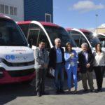 Los cinco nuevos microbuses de las líneas 2 y 12 entrarán en funcionamiento a partir del 15 de mayo