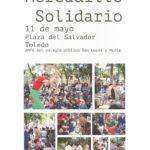 El mercadillo solidario del colegio toledano 'San Lucas y María' regresa a la Plaza del Salvador