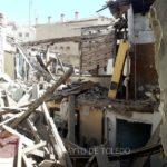 Se derrumba parte de una vivienda antigua en el Casco Histórico de Toledo
