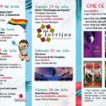 Cine en la calle, baños nocturnos o sesiones de música protagonizarán las noches de verano en Torrijos