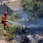 La UME se retira del incendio de Toledo que ha quedado ya estabilizado