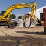 La Junta retirará todo el amianto de Laguna de Arcas (Polígono) tras encontrar 10.000 m3 más de restos
