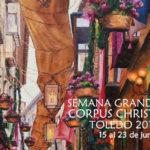 Alfombras florales, la restauración de la Tarasca y más citas musicales, en la Semana del Corpus de Toledo