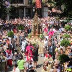 """El Corpus Christi, una fiesta de """"gran plasticidad"""" que """"transforma"""" Toledo"""