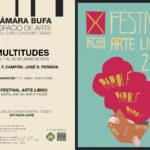 La Cámara Bufa se fragmenta para acoger 'Multitudes' y el Festival Arte Libro