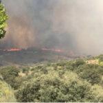 Siguen activos los incendios en Toledo y Almorox