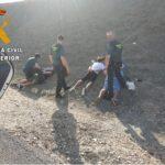 Cuatro detenidos, acusados de más de viente robos en La Sagra, cuando huían de otra vivienda de Olías del Rey