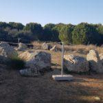 """Crómlech y menhires a pares en Totanés, donde esperan """"ilusionados"""" datar el posible conjunto megalítico"""