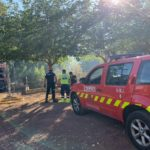 Extinguido el incendio del campus de la Fábrica de Armas en Toledo