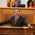 """García-Page exhibe """"estabilidad"""" política e """"invoca"""" al consenso para cambiar el Estatuto de Autonomía"""