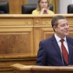Emiliano García-Page, investido presidente de Castilla-La Mancha con el voto en contra de PP y Ciudadanos