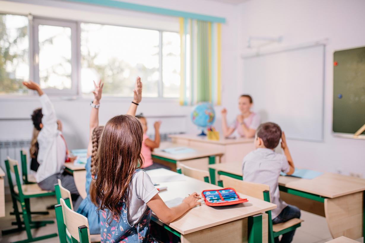 aula estudiantes colegio enseñanza