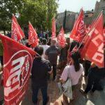 Avalto, Comisiones Obreras y UGT se concentran contra la siniestralidad laboral