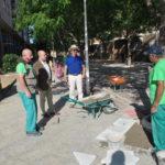 El Ayuntamiento de Toledo trabaja en el adecentamiento de la calle Río Guadiela