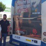 'Sin clientes no hay prostitución', arranca la nueva campaña de Cáritas en los autobuses de Talavera
