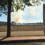 Un bombero resulta herido con quemaduras de segundo grado en un incendio en Toledo