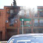 VÍDEO | Cuatro personas afectadas en el incendio en una vivienda de Toledo