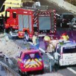 Una colisión múltiple en la A-4 a la altura de Seseña se salda con varios heridos y algún conductor atrapado