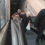 El Ayuntamiento da un plazo de 24 horas a la concesionaria para arreglar las escaleras mecánicas del Miradero