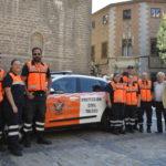 Un nuevo vehículo híbrido para reforzar el servicio de Protección Civil en Toledo