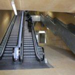 Dos tramos de bajada de las escaleras del Miradero permanecerán cerrados cinco días por arreglos
