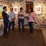 Santa María de Melque abre su sala de exposiciones a la propuesta artística del pintor Miguel Ruiz-Poveda