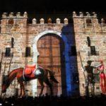 Las leyendas de la nueva edición de 'Luz Toledo' reúnen a centenares de personas en el Alcázar