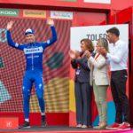 La lluvia da tregua a La Vuelta en una accidentada etapa en la que Cavagna conquistó Toledo