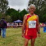 El toledano Juan López, de 75 años, campeón de Europa de Cross
