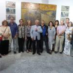 El escultor que diseñó los 'cabezones' de los Premios Goya expone en Toledo