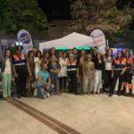 La campaña 'Sin un Sí, ¡Es no!' contra la violación en cita acaba en las fiestas de Olías del Rey